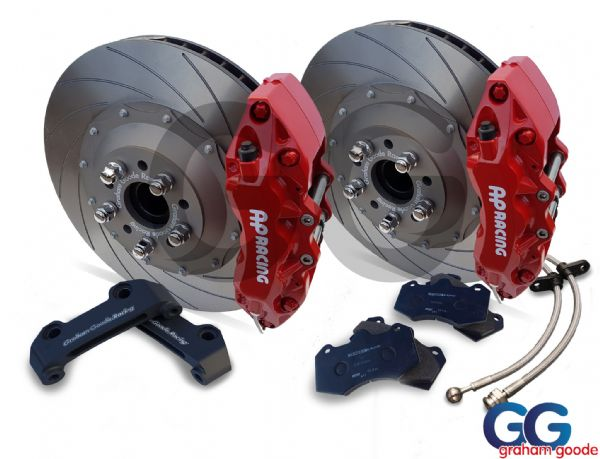 Focus RS MK3 Big Brake Kit Red 6 Pot 362mm Upgrade GGR AP Racing GGF7004